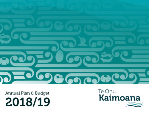 Te Ohu Kaimoana Annual Plan & Budget for 2018/19