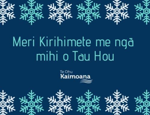 Meri Kirihimete me ngā mihi o Tau Hou