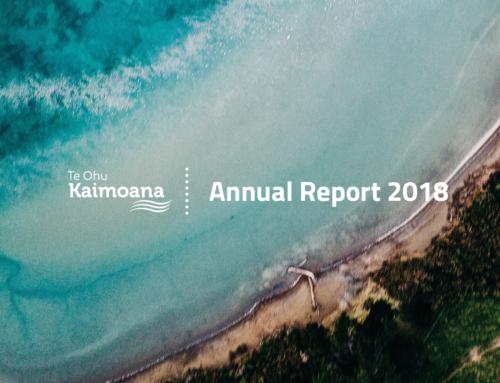 Te Ohu Kaimoana Annual Report 2018