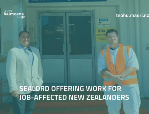 Sealord is recruiting for the hoki season