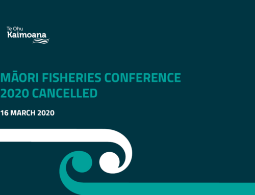 Māori Fisheries Conference 2020 Cancelled