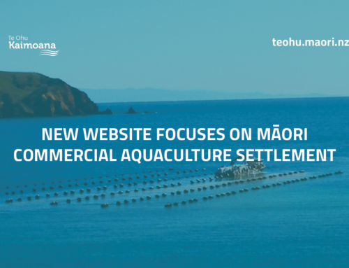 New website focuses on Māori Commercial Aquaculture Settlement