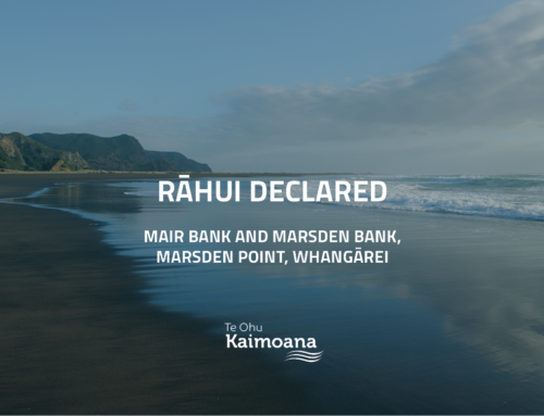 Rāhui at Marsden Point, Whangārei