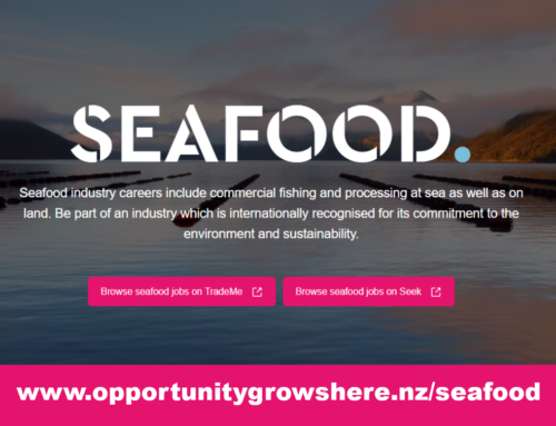 Looking for work? Careers in the Seafood Industry available now