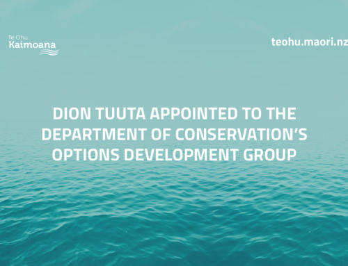 Dion Tuuta appointed to Department of Conservation's Options Development Group