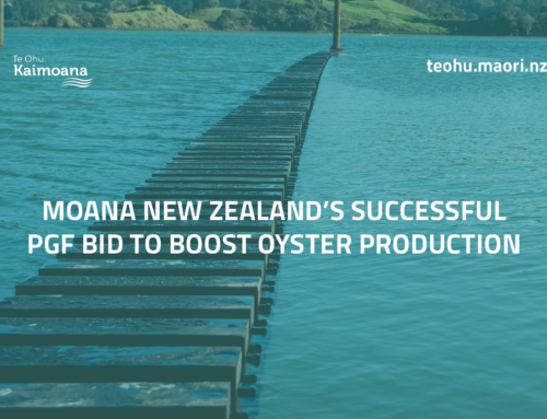Moana New Zealand's successful PGF bid to boost oyster production