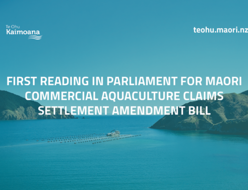 First reading in parliament for Maori Commercial Aquaculture Claims Settlement Amendment Bill