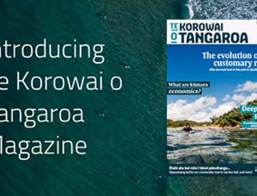 Launching Te Korowai o Tangaroa – our kāhui magazine